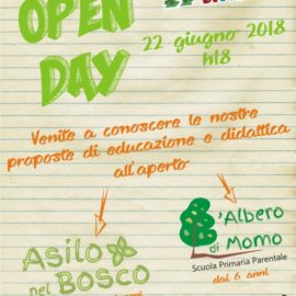"""A Casa di Momo"" – OPEN DAY – 22/04/2018"